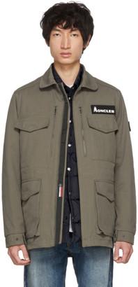 Moncler Genius 7 Fragment Hiroshi Fujiwara Khaki Down Jacket