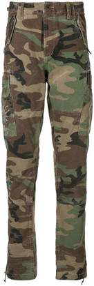 Polo Ralph Lauren camouflage print trousers