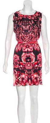 Jean Paul Gaultier Printed Mini Dress