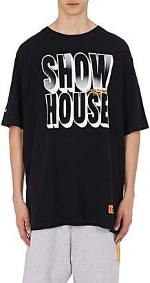"Heron Preston Men's ""Show House"" Cotton T-Shirt"