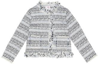 Il Gufo Cotton-blend boucle jacket