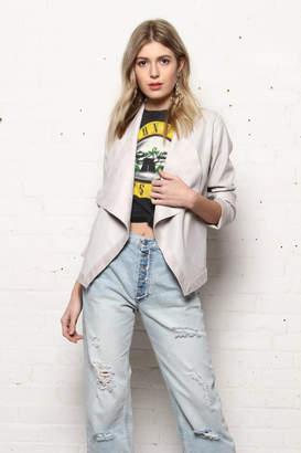 BB Dakota Reversible Vegan-Leather Jacket