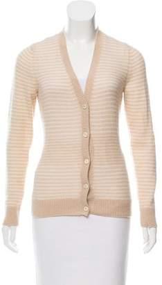 Loro Piana Striped Knit Cardigan