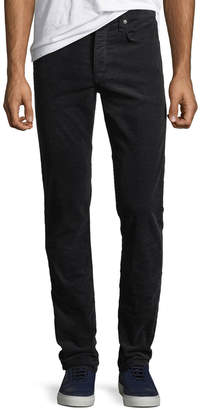 Rag & Bone Men's Fit 2 Mid-Rise Relaxed Slim-Fit Corduroy Pants, Navy