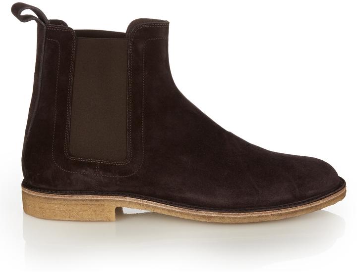 Bottega VenetaBOTTEGA VENETA Suede chelsea boots
