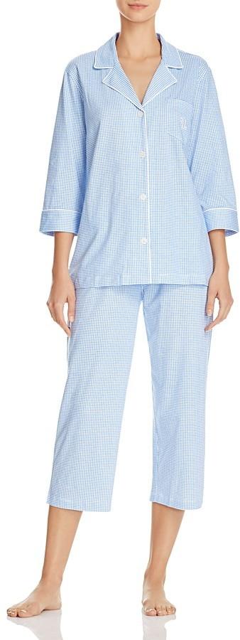 Lauren Ralph LaurenLauren Ralph Lauren Classic Knits Capri Pajama Set