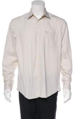Burberry Embroidered Pocket Shirt