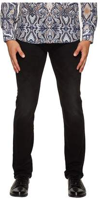 Etro Regular Fit Jeans in Black Men's Jeans