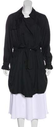 Viktor & Rolf Silk Trench Coat