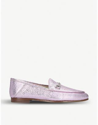 6bcdf5f81ace7b Sam Edelman Loraine metallic leather loafers