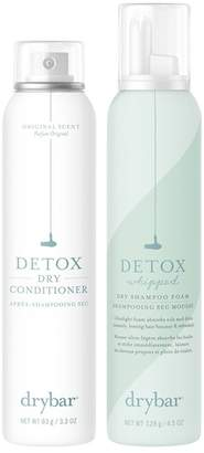 Drybar Detox 2-Piece Dry Conditioner & Whipped Dry Shampoo Foam Set - Valued at $47