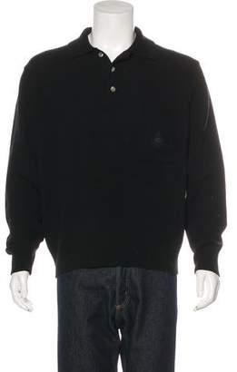 Emporio Armani Wool Polo Sweater