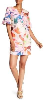 Trina Turk trina Jacqueline Short Sleeve Floral Print Dress