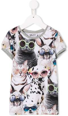 Molo Sunny funny animals T-shirt