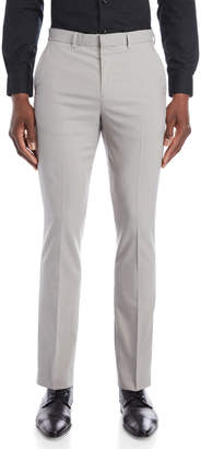 English Laundry Light Grey Slim Fit Suit Pants