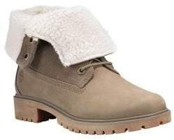Timberland Jayne Fleece Fold Down Boots