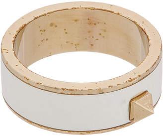 Valentino Rockstud Enamel Band Ring