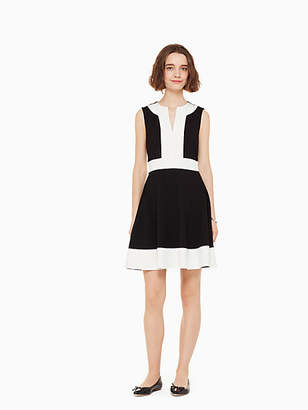 Kate Spade Colorblock ponte dress