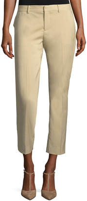 Ralph Lauren Patrice Straight-Leg Ankle Wool Pants
