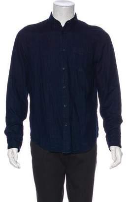Rag & Bone Woven Button Shirt