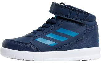 adidas Infant AltaSport Mid EL Trainers Collegiate Navy/Mystery Petrol/Footwear White