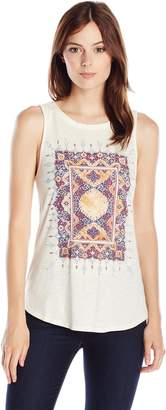 Lucky Brand Women's Suzani Tank Top
