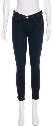 Current/Elliott Stiletto Mid-Rise Skinny Jeans
