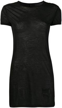Rick Owens longline T-shirt