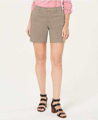 Style&Co. Style & Co Petite Released-Hem Chino Shorts