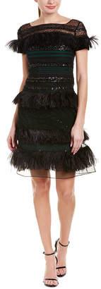 Carolina Herrera Silk-Blend Cocktail Dress