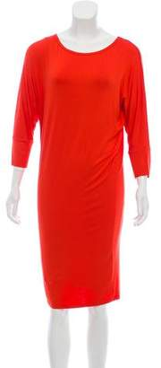Trina Turk Short Sleeve Knee-Length Dress