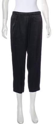 Vince Mid-Rise Sateen Pants
