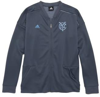adidas MLS New York City FC Anthem Full Zip Jacket