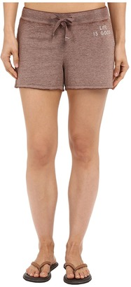 Life Is Good Bold French Terry Shorts $38 thestylecure.com