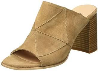 Bata Women 7633516 Block Wedge Shoes Brown Size: