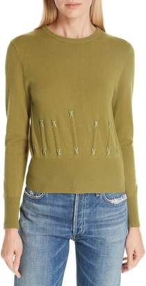 Sea Cailyn Corset Knit Cashmere Sweater