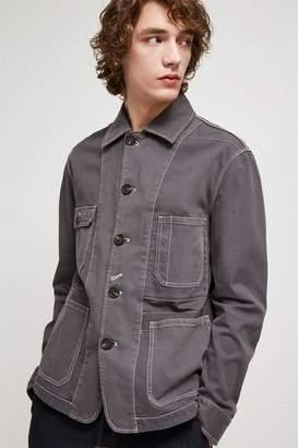 French Connection Garment Dye Mix Jacket