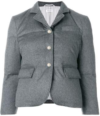 Thom Browne Down-filled Cashmere Sport Coat