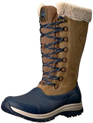 Muck Boot Muck Arctic Après Tall Rubber & Leather Lace-up Women's Winter Boots