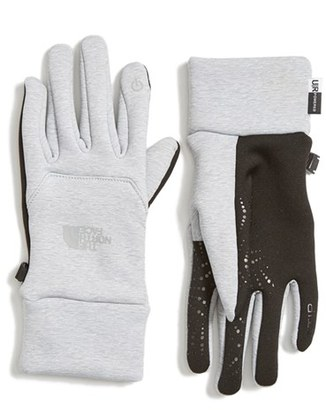 Women's The North Face 'Etip' Tech Gloves $50 thestylecure.com