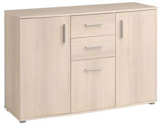 URBAN RESEARCH Parisot Salto Sideboard with 2 and 3 Drawers, Light Acacia