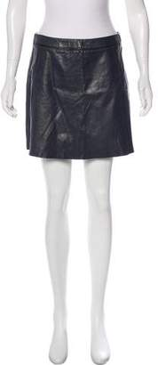 Vince Leather Mini Skirt w/ Tags