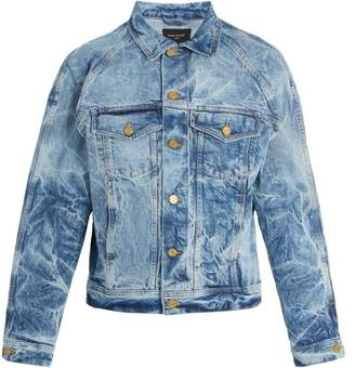 Fear Of God Holy Water Denim Trucker Jacket - Mens - Blue