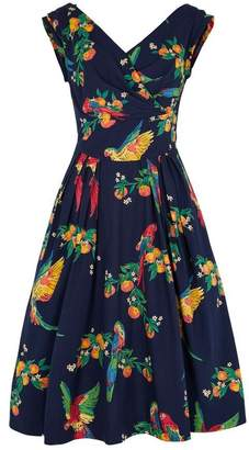 Emily And Fin Florence Dress Playfull Parrots - 12