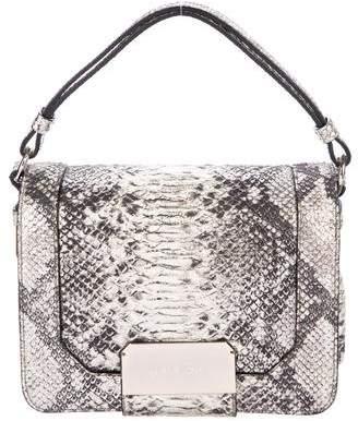 Stuart Weitzman Snakeskin Crossbody Bag