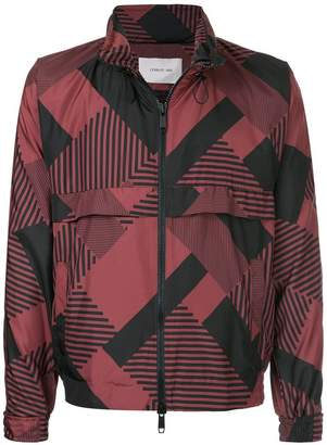 Cerruti printed windbreaker jacket