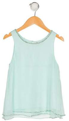 Derhy Kids Girls' Sleeveless Sequin Top