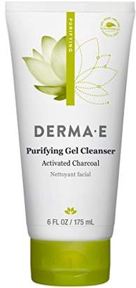 Derma E DERMA-E Purifying Gel Cleanser With Marine Algae and Activated Charcoal 6 oz