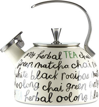 Kate Spade All in Good Taste Piping Hot Tea Kettle