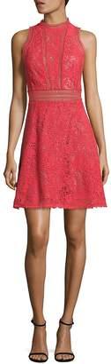 Rebecca Taylor Women's Arella Cutout Lace Dress